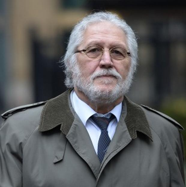 Knutsford Guardian: Dave Lee Travis is accused of a series of indecent assaults and one sexual assault