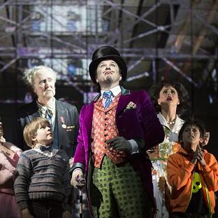 Charlie And The Chocolate Factory and other new shows have helped to boost attendance at London's theatres