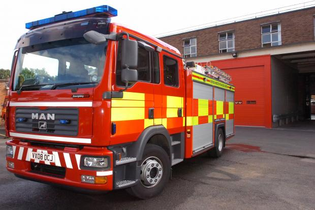 Champion award for fire service