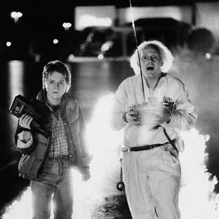 Knutsford Guardian: Michael J Fox and Christopher Lloyd starred in sci-fi hit Back to the Future (AP)