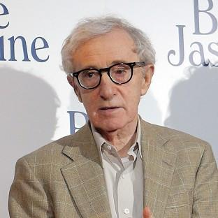 Director and actor Woody Allen at the French premiere of Blue Jasmine in Paris (AP)