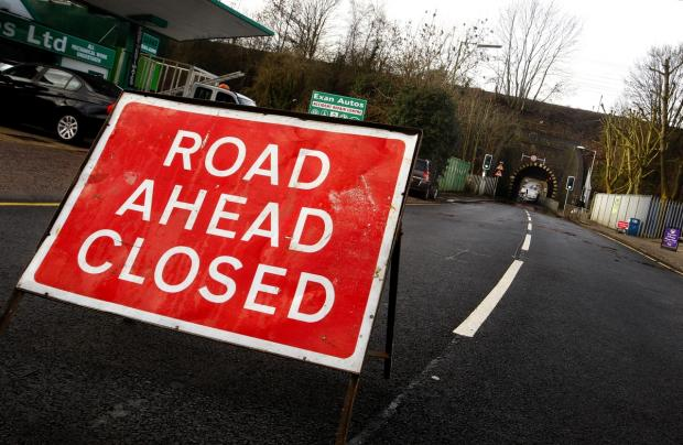 Smith Lane closed for five nights