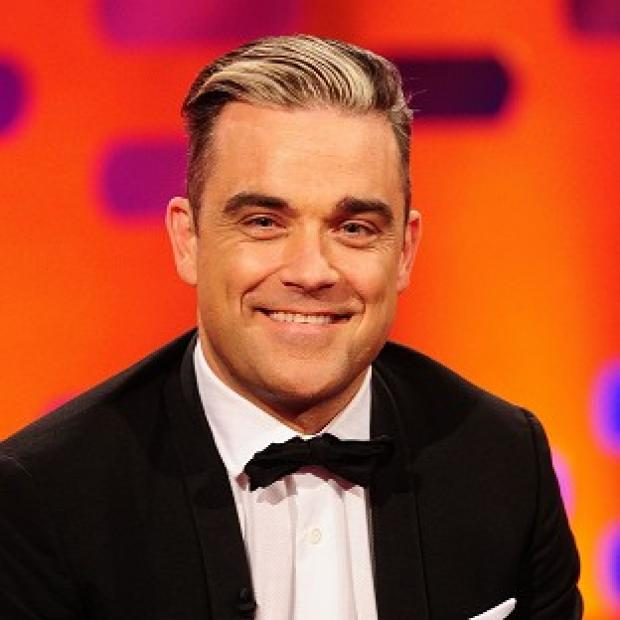 Knutsford Guardian: Robbie Williams knows about his birthday surprise because it clashes with Stoke's celebrations