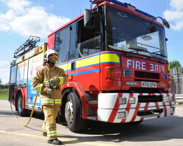 Knutsford Guardian: Cheshire Fire 'confident' it will deal wi