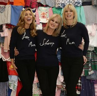Abbey Clancy, Joanna Lumley and Zoe Ball are raising money for mothers living in poverty around the world
