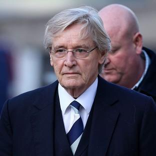 Coronation Street actor William Roache arrives at Preston Crown Court
