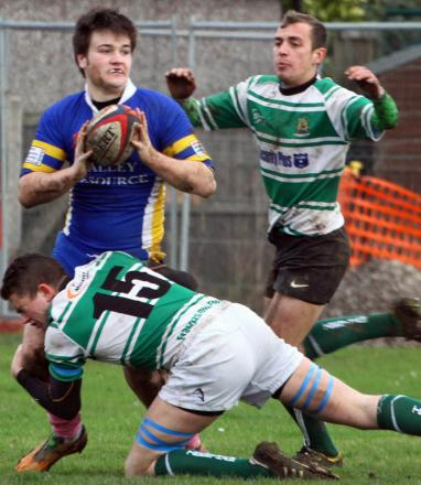 RUGBY UNION: Blues cede points