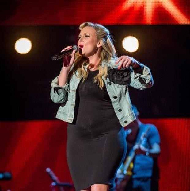 Knutsford Guardian: Lucy Winter flew in from Cyprus to take part in the blind auditions