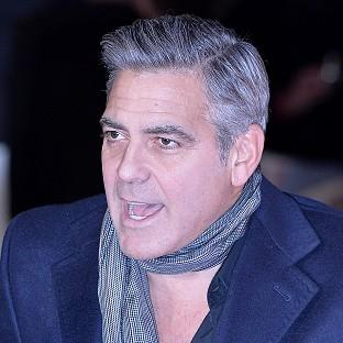 Knutsford Guardian: George Clooney arriving for the UK Premiere of The Monuments Men, at the Odeon Leicester Square, London.