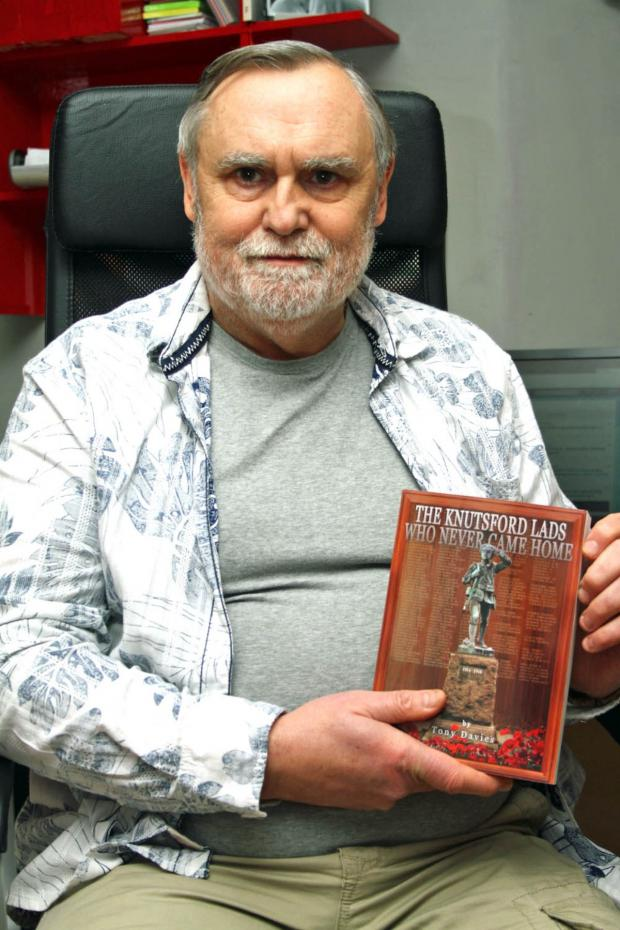 Knutsford Guardian: Tony Davies the Accidental Historian with his new book