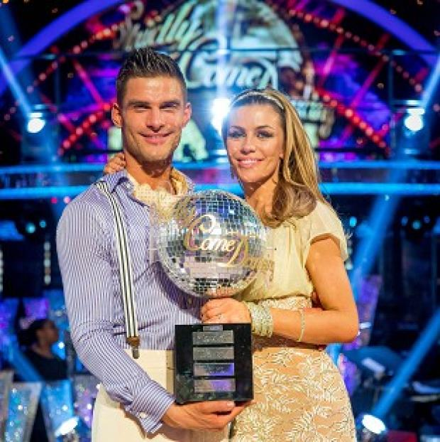 Knutsford Guardian: Abbey Clancy and her dance partner Aljaz Skorjanec were crowned Strictly Come Dancing champions
