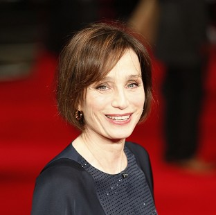 Kristin Scott Thomas enjoyed working with Ralph Fiennes on The Invisible Woman