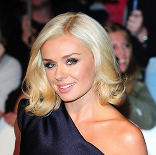 Katherine Jenkins has been working on her new album in the US