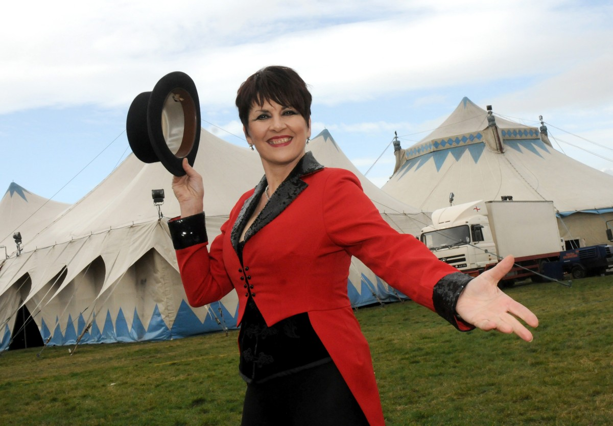 Billy Smarts Circus makes its Knutsford debut