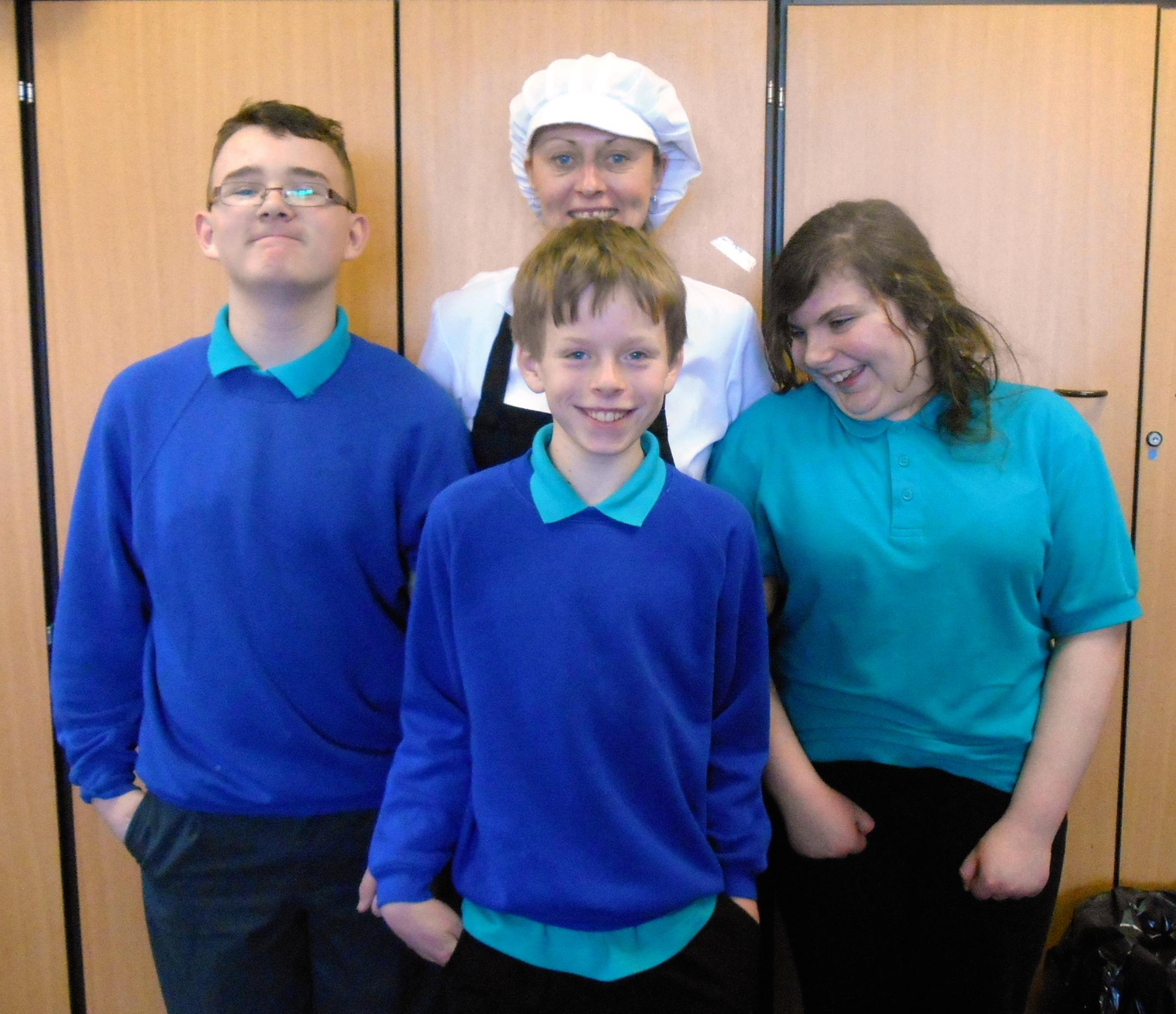 Pupils serve up treat for to