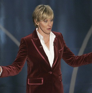 Ellen DeGeneres is presenting the Oscars for the second time