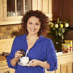 Nadia Sawalha is confident about her body these days