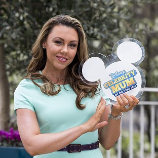 Michelle Heaton was named the Disney Celebrity Mum of the Year 2014