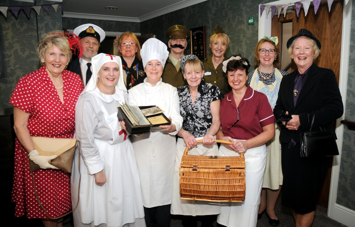 Holmes Chapel care home steps back to the 40s