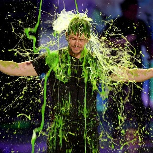 Knutsford Guardian: Mark Wahlberg gets slimed at the Kids' Choice Awards in Los Angeles (Invision/AP)