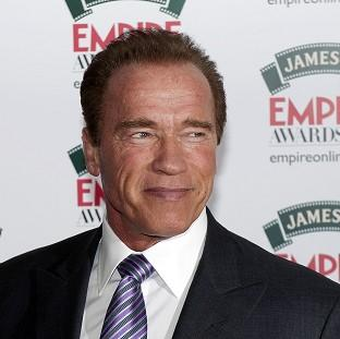 Arnold Schwarzenegger attending the Empire Magazine Film Awards