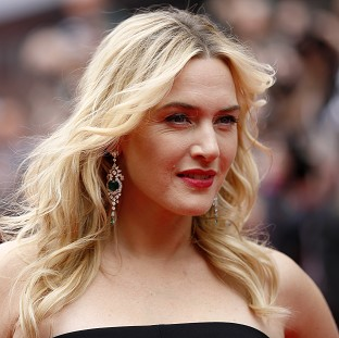 Kate Winslet arriving for the European premiere of the film Divergent