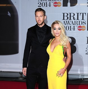 Calvin Harris and Rita Ora began dating in May last year