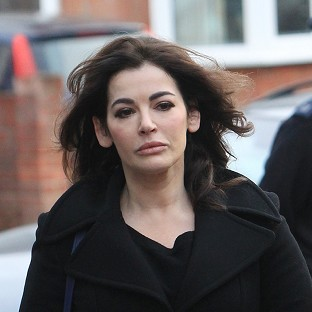 Nigella Lawson was not allowed to board a flight to the US