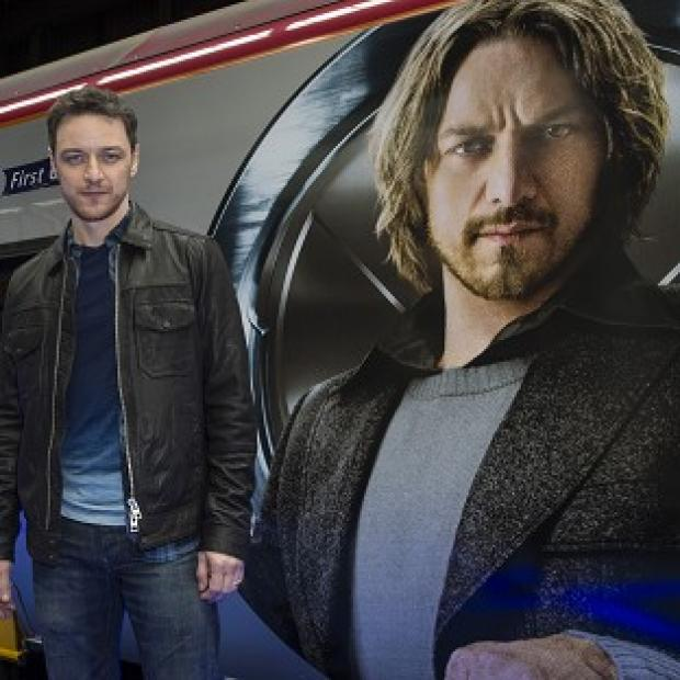 Knutsford Guardian: James McAvoy liked working with Sir Patrick Stewart on the new X-Men film