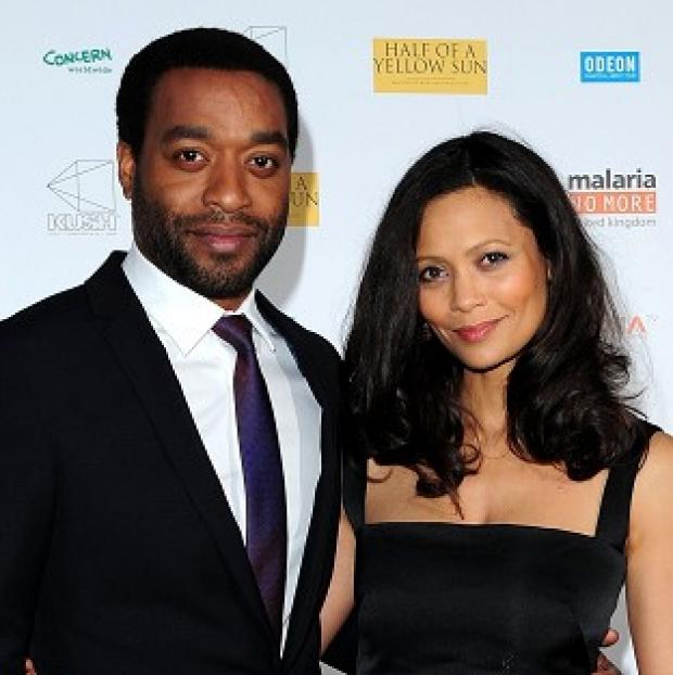 Knutsford Guardian: Chiwetel Ejiofer and Thandie Newton at the premiere of Half of A Yellow Sun