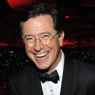 Stephen Colbert will succeed David Letterman as the host of The Late Show. (AP)