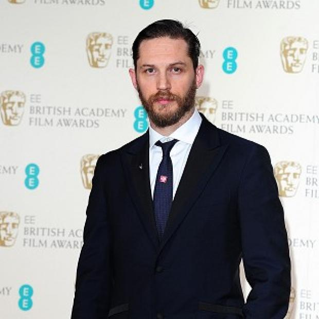 Knutsford Guardian: Tom Hardy doesn't think of himself as being very manly