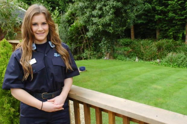 Holmes Chapel Fire Cadet Jessica Leighton is one of 20 Cheshire cadets travelling to Nepal next year to help build a school