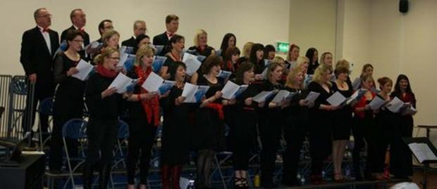 Bexton Adult Choir performed at Bexton Primary School recently and raised nearly £600 for the school