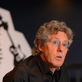 Roger Daltrey is raising awareness of his cancer charity at the IndyCar Series Toyota Grand Prix