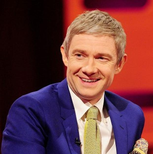 Knutsford Guardian: Martin Freeman says he doesn't like long-running roles