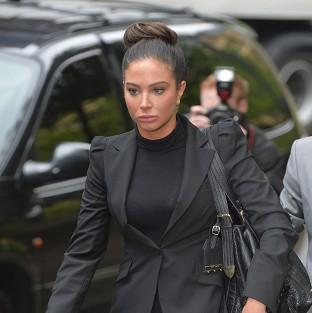 Tulisa Contostavlos has appeared in court accused of being concerned in brokering a drug deal