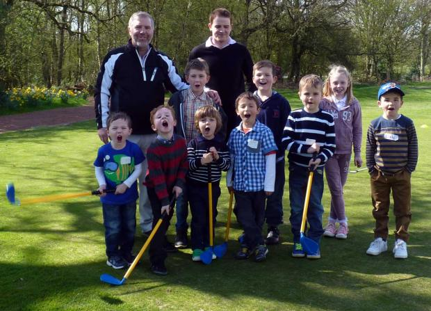 Knutsford Guardian: Heyrose Golf Club is offering children a 10-week introduction to the sport with its Junior Golf Passport programme