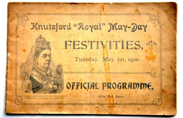 Knutsford Guardian: Programme: May Day in times gone by: The Official Programme, priced at two pence, from the first May Day of the 20th Century – May 1 1900