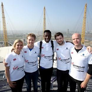Jermain Jackman and Jack Whitehall are among the stars taking part in the challenge
