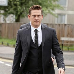 Knutsford Guardian: Blue star Lee Ryan was banned from driving for two years and fined