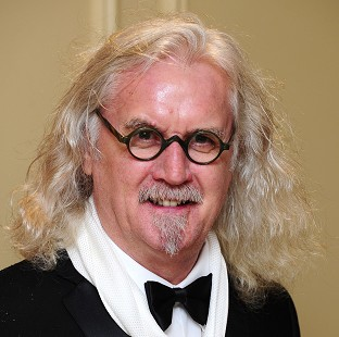 Comic Billy Connolly hopes to raise a laugh from beyond the grave - with an interactive burial plot.