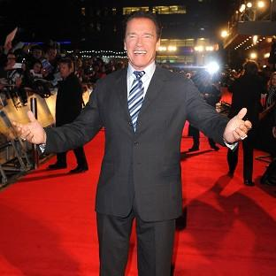 Arnold Schwarzenegger always planned to return to the bright lights of Hollywood