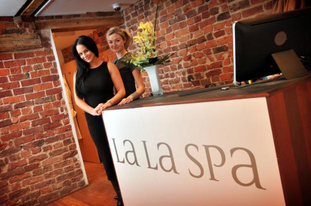 Owner Maddy Sowerby and manager Julie Sneyd in the new King Street salon
