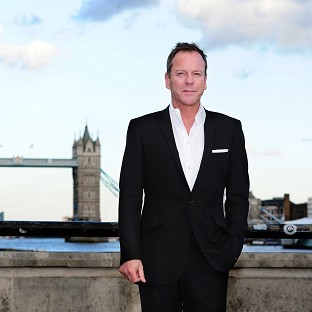 Kiefer Sutherland attending the 24: Live Another Day screening in London