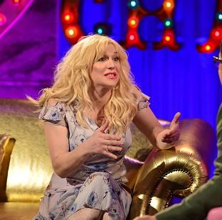 Knutsford Guardian: Courtney Love chats dating with Alan Carr (Open Mike)