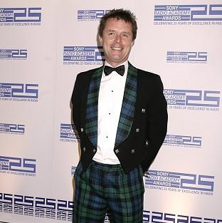 Nicky Campbell briefly disappeared from the airwaves thanks to a fire alarm