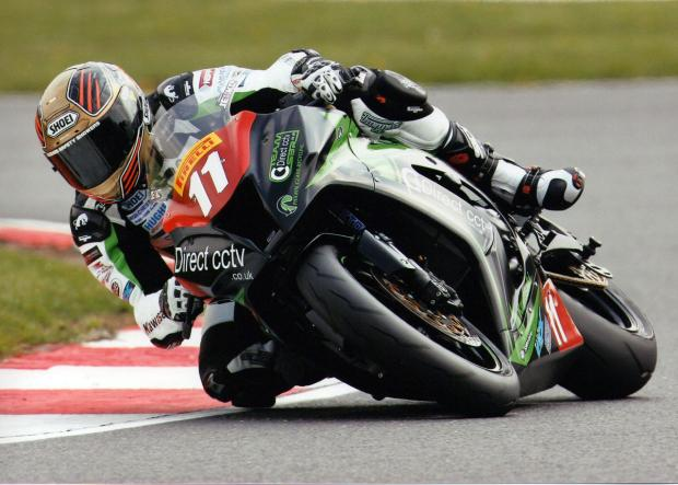 Adam Jenkinson finished fourth in the Pirelli Superstock 1000 National Championship race at home circuit Oulton Park