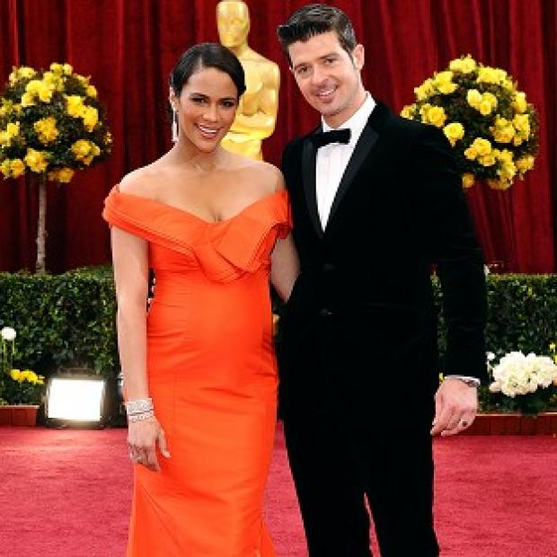 Knutsford Guardian: Robin Thicke is apparently hoping to win back Paula Patton with a song