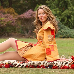 Claire Sweeney has revealed she is pregnant